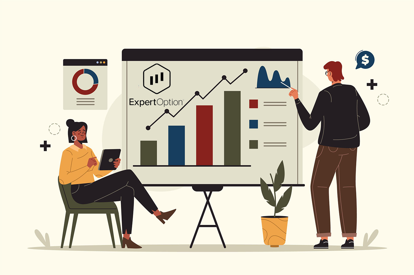 ExpertOption पर द्विआधारी विकल्प जमा और व्यापार कैसे करें