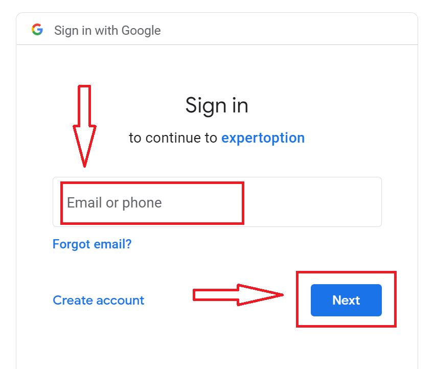 कैसे लॉगिन करें और ExpertOption पर द्विआधारी विकल्प ट्रेडिंग शुरू करें