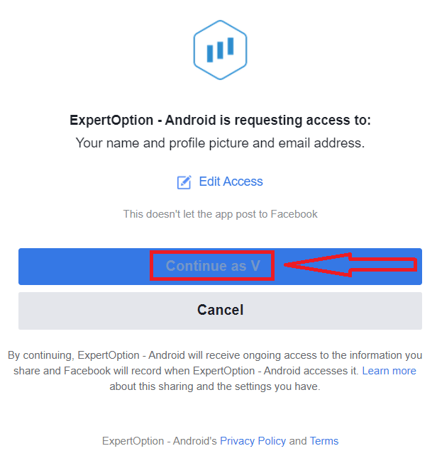 ExpertOption पर डेमो अकाउंट कैसे खोलें